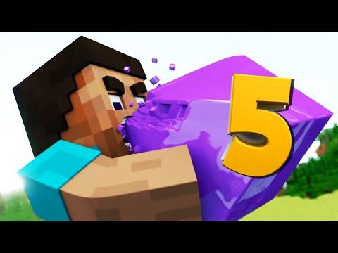 ТОП 5 Minecraft Анимаций за 2015 (Лучшие Майнкрафт Анимации)