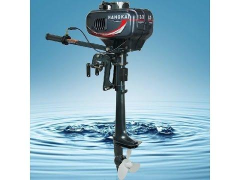 Лодочный мотор Hangkai 3.5 c лодкой Аква 2.8