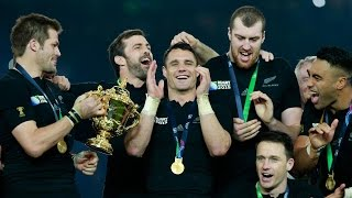 All Blacks Trophy lift and celebrations - Rugby World Cup 2015 | Rugby Video
