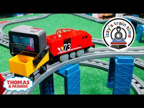 Thomas and Friends | WACKMASTER GOPRO CHALLENGE WITH THOMAS TRAIN | Fun Toy Trains for Kids