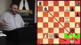"""Get Those Bishops and Knights Out!"" - GM Ben Finegold - 2014.08.17"