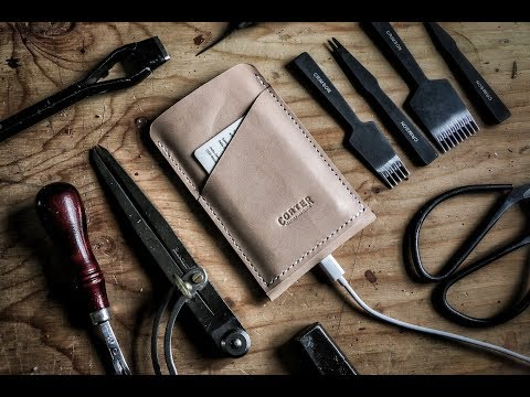 Leather Crafting Making An Iphone Wallet