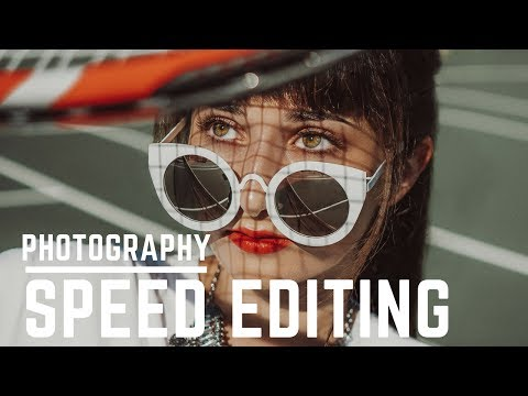Speed Editing: How To Edit Portraits in Lightroom cc and Photoshop cc 2017