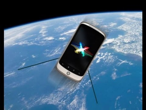 NASA Launches Smartphones Into Space as Satellites
