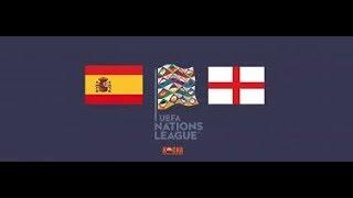 Spain vs England - Live Stream (UEFA Nations League)