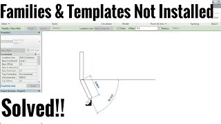Revit Architecture 2013/2014/2015/2016/2017 Templates And Families Not Installed SOLVED!! Tutorial#1