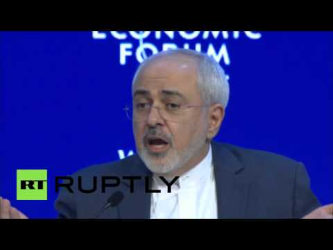 Switzerland: Zarif talks Iran nuclear deal, tells Saudis not to 'panic' at WEF