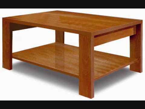 9 mesas de centro youtube for Mesas de televisor modernas