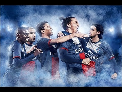 FIFA 14 схема игры за PSG