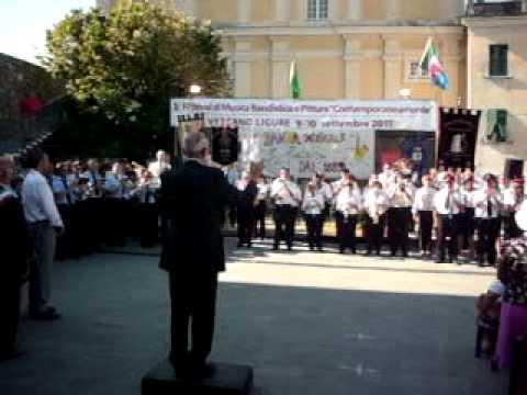Inno di Mameli III festival Contemporaneamente 10/09/2011 @ Vezzano Ligure (SP) maestro camera