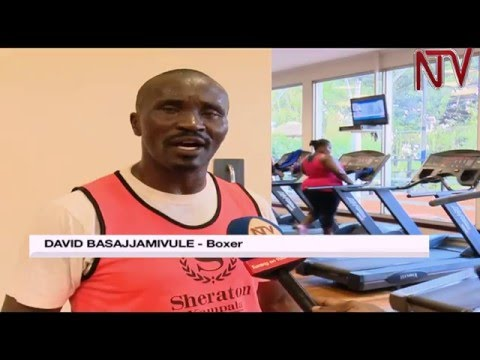 Basajja-Mivule gets ready to face off with Tanzania's Mbaruku