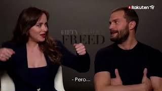 Download Lagu Jamie Dornan & Dakota Johnson - Fifty Shades Freed DVD Release (Spain) quick fire fun! Gratis STAFABAND