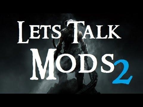 RE: Let's Talk Skyrim Mods for Let's Play Skyrim