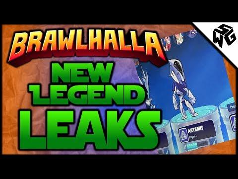 NEW Legend LEAKS! Artemis - Brawlhalla Gameplay :: Scythe/Rocket Lance