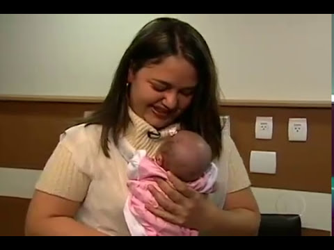 Jornal Hoje - Bebês prematuros (06.10.10)