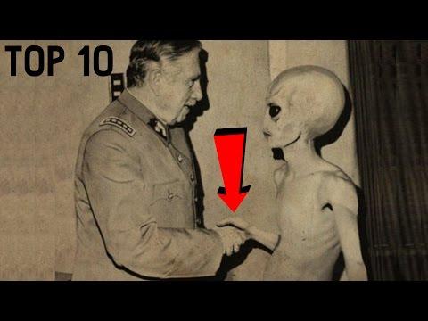 TOP 10 - LIDÍ, KTEŘÍ ZEMŘELI PO SETKÁNÍ S UFO