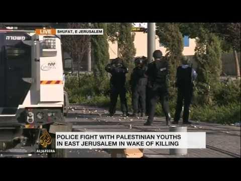 East Jerusalem clashes follow teen's murder