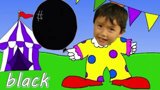 The Balloon Song   Learn Colors