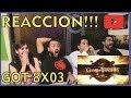 GAME OF THRONES Temporada 8 episodio 3 REACCION!!!😱 8x03 MEJORES MOMENTOS💥 GOT