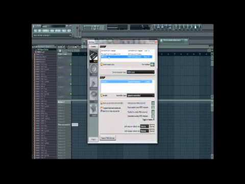 how to use mpk mini in fl studio