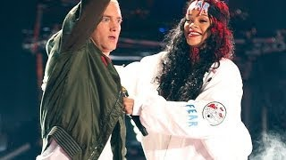Eminem ft. Rihanna - The Monster Live @ MTV Movie Awards 2014 *BEST*