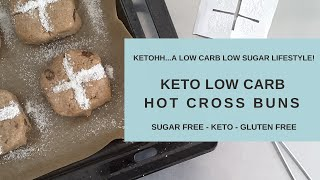 Hot Cross Buns | Ketohh | Fruit Bread | A keto recipe that means fruit bread is back on the menu!