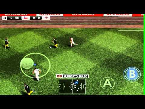 Pro evolution soccer 2012 en motorola Defy (Screencast) APD + Datos SD