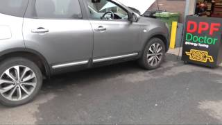 Nissan Qashqai 1 5 DCI 3 stage DPF cleaning by The DPF Doctor