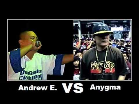 Anygma VS. Andrew E. - DIss Back Ni Anygma Ky Andrew E.