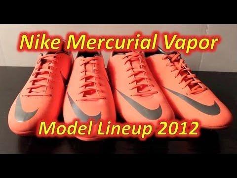 Nike Mercurial Vapor VIII VS Miracle III VS Glide III VS Victory III - Comparison