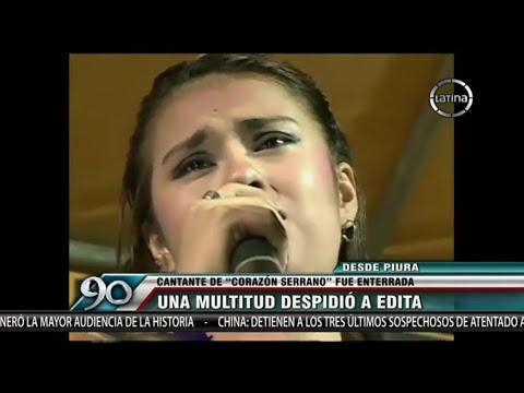 Corazón Serrano: Así despidió Piura a Edita Guerrero en su entierro