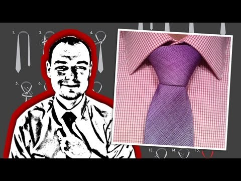 How to Tie a Necktie Pratt Knot