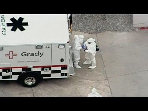US doctor with Ebola virus in Atlanta for treatment