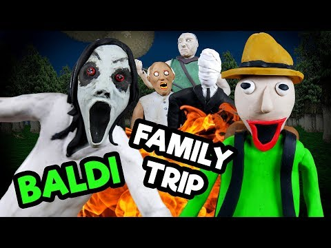 LP Movie: Baldi going on a Field Trip to Slendrina family🏕
