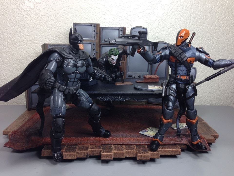 Batman vs Deathstroke Arkham Origins Batman Arkham Origins Batman
