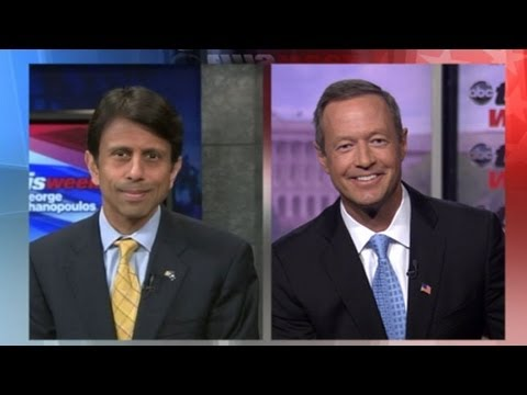 Bobby Jindal and Martin O'Malley Debate