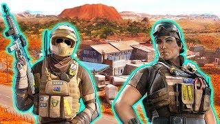 *NEW* Mozzie And Gridlock Ops Are Amazing! - TTS - Operation Burnt Horizon | Rainbow Six Siege