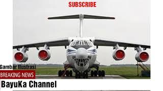 Rusia Kirim 3 Pesawat Ilyushin-76 ke Crimea