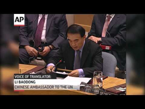 Russia and China Again Veto Syria Resolution