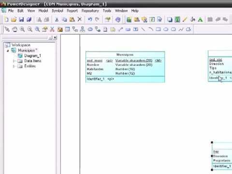 Tutorial PowerDesigner: Crear tus propios modelos Entidad-Relacion (Parte 2 de 2)