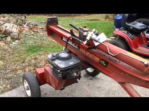 HUSKEE LOG SPLITTER REVIEW