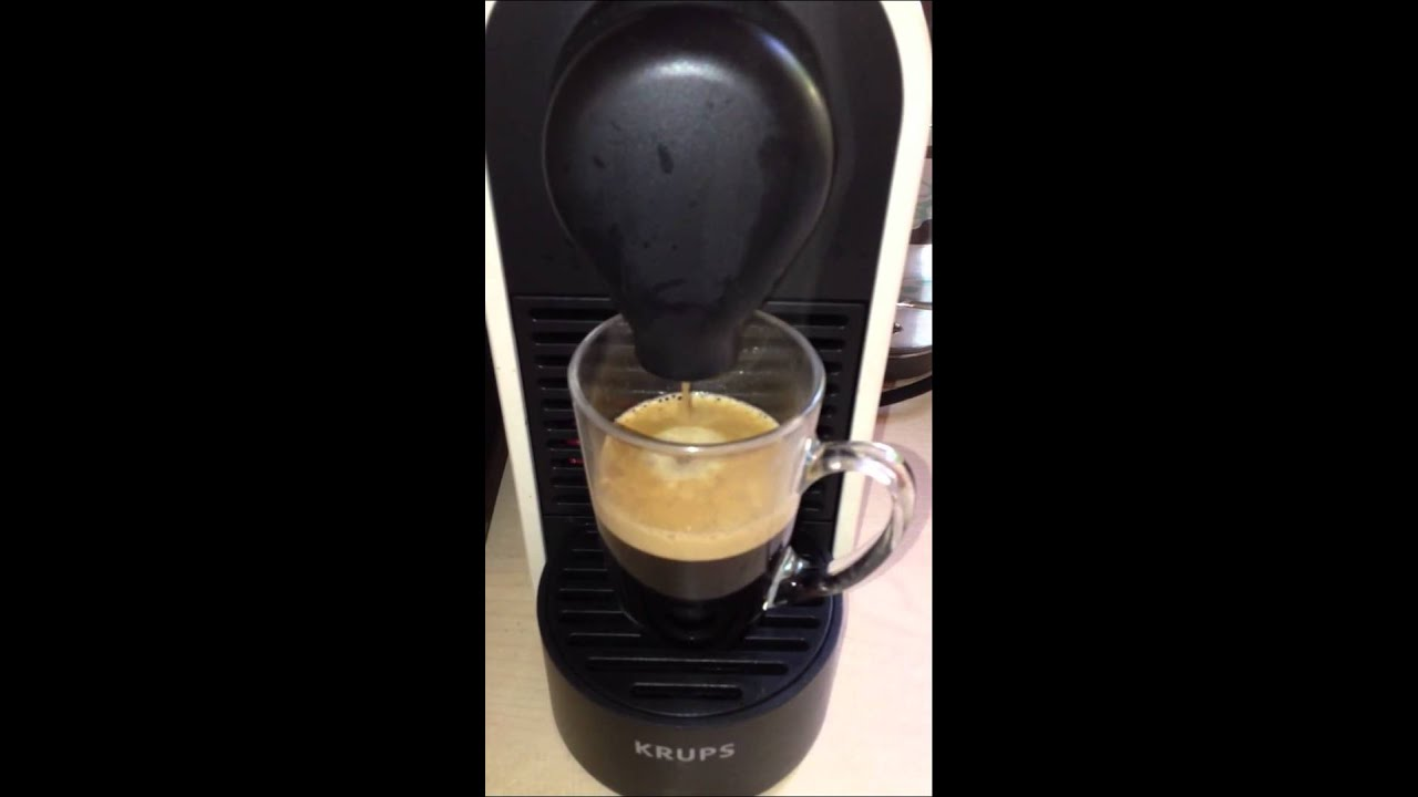 probl me avec nespresso u krups youtube. Black Bedroom Furniture Sets. Home Design Ideas