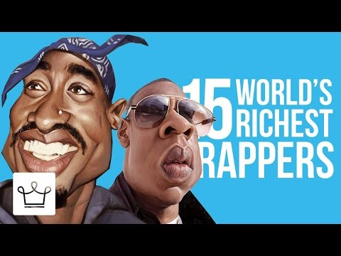 Top 15 Richest Rappers In The World 2017