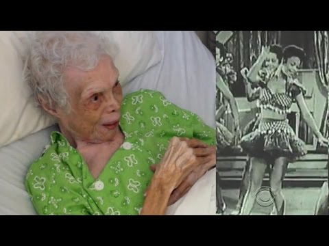102-year-old sees footage of her dancing days for first time