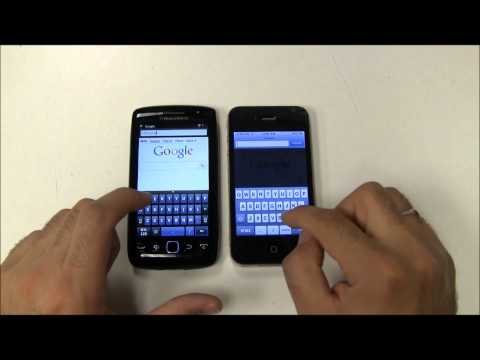 Blackberry Torch 9860 vs iPhone 4 !!!!
