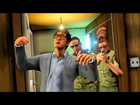 GTA V - Cops Attack Me In Cut Scene - Hilarious