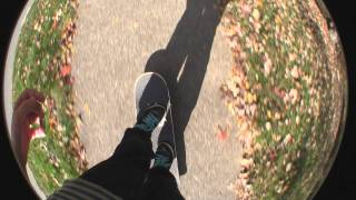 Skateboard Footage (1080p Fisheye test)