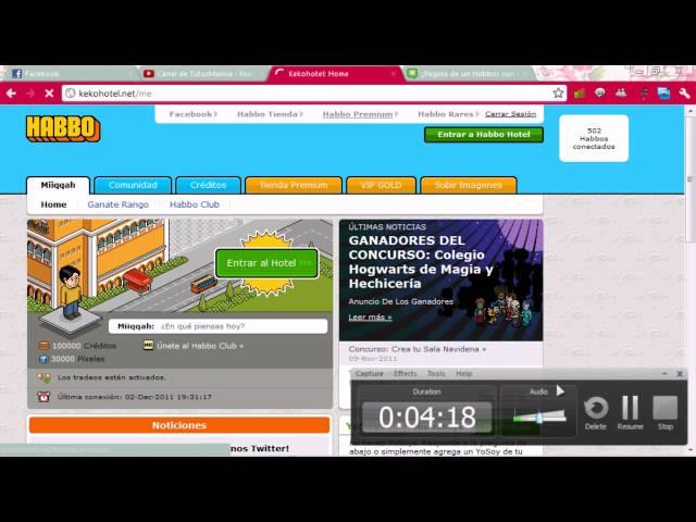 Juegos Como Habbo Cn Creditos Gratis Parte2! ^^