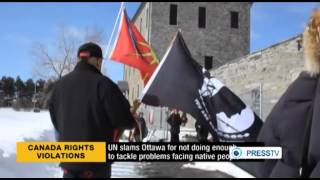 UN Blasts Canada Over Natives Rights