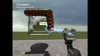 Garrys mod Gameplay Rockets #01